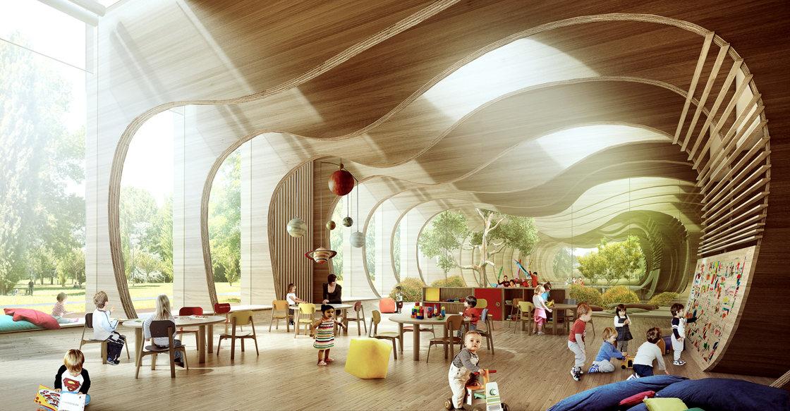 Nuovo asilo nido ecostenibile