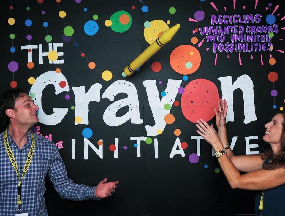 Crayon: il riciclo che colora gli ospedali pediatrici