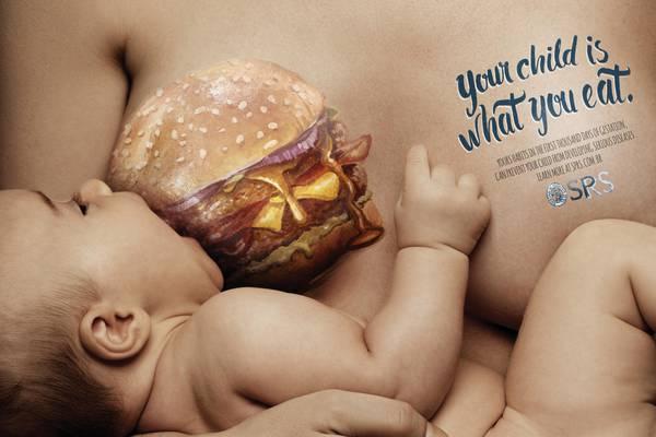 Tuo figlio e' cio' che mangi tu