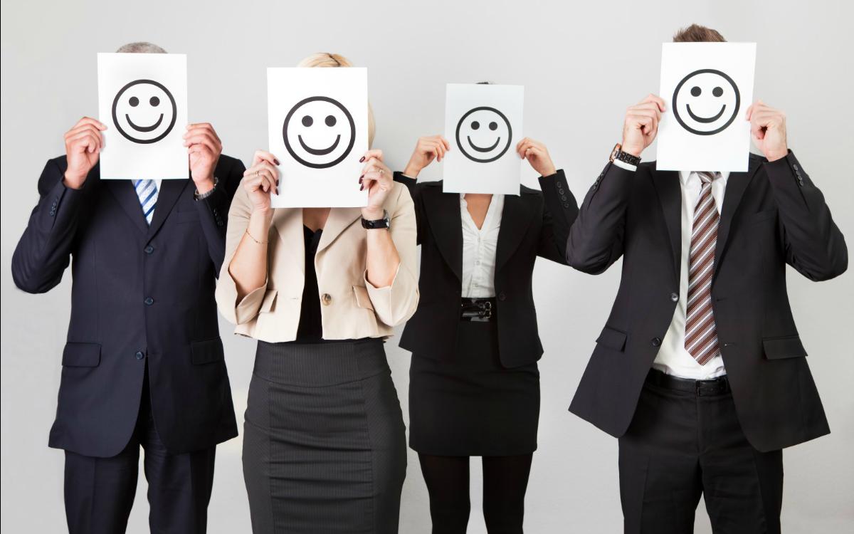 lavoratori felici
