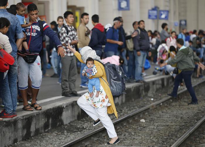 Migranti in Ungheria