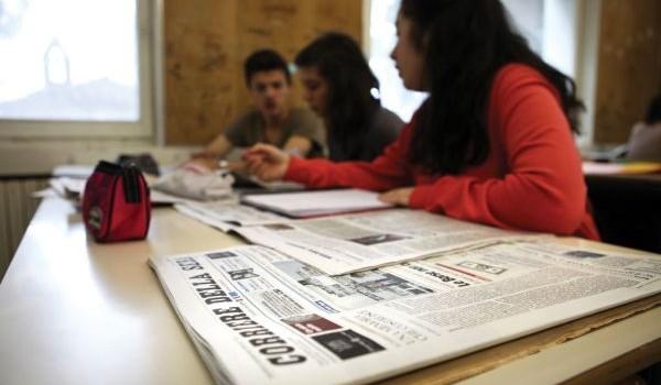 lettura di giornali