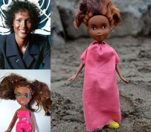 Le bambole cambiano look e diventano eroine della storia