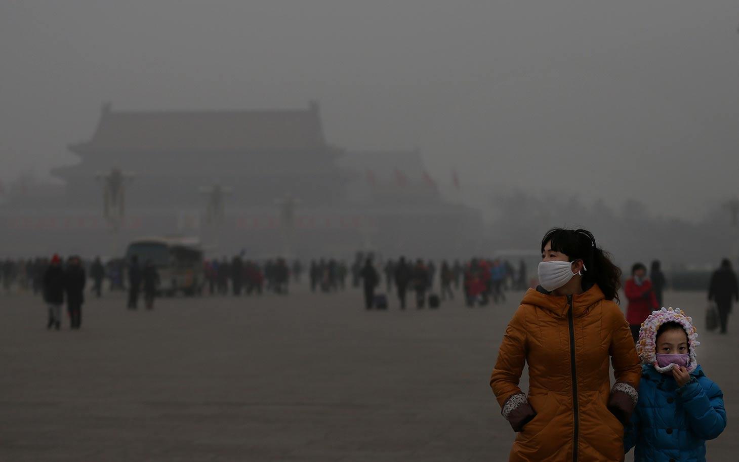 Inquinamento Pechino