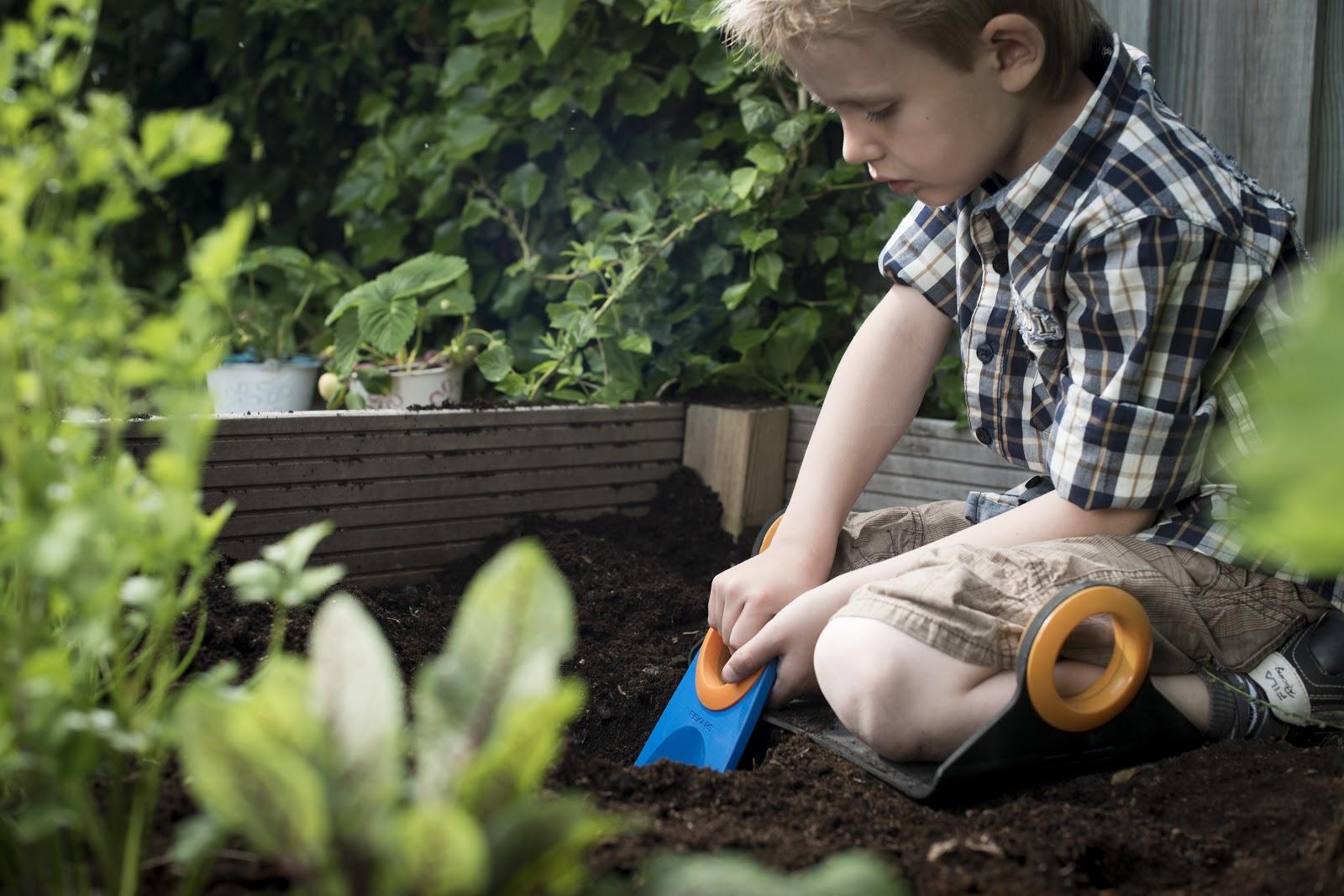 giardino bambino