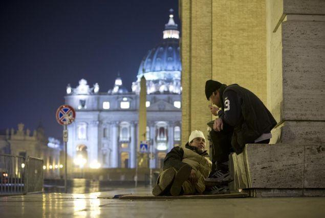 Vaticano: un nuovo dormitorio per i senzatetto