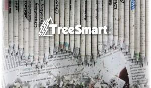 """Chris Stangland ha fondato """"TreeSmart"""", una società con sede in Oregon che si propone di portare matite, pastelli e righelli fatti di giornali riciclati in tutte le scuole degli Stati Uniti."""