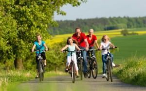 cicloturismo e l'escursionismo