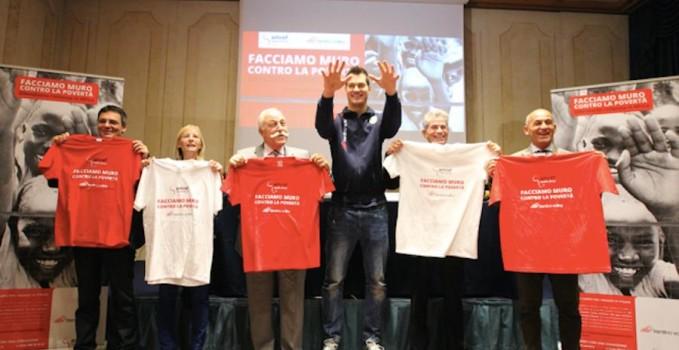 progetto 'Facciamo muro contro la povertà', nato dalla collaborazione fra la Trentino Volley e l'Amref Health Africa