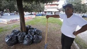 Gonzalo ed è un senzatetto sudamericano