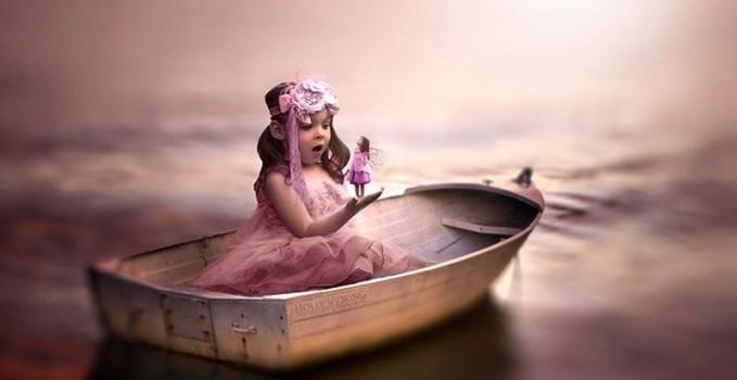 Holly Spring fotografa la sua bambina Violet