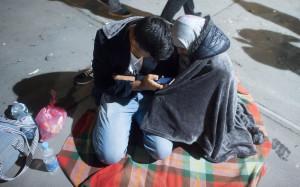 smartphone immigrati