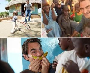 Federer investe 12 milioni di euro per la realizzazione di 81 scuole materne