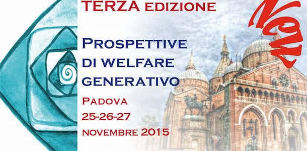 """Terza edizione del seminario """"Prospettive di welfare generativo"""""""