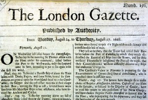 la London Gazette