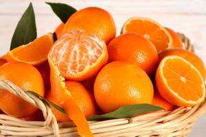 cesto di arance
