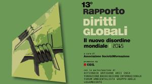 rapporto diritti globali 2015