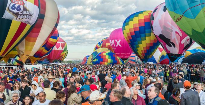 Messico: il festival delle mongolfiere