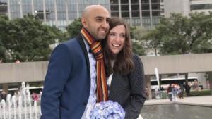 Samantha Jackson e Farzin Yousef