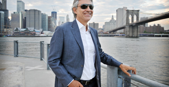 Andrea Bocelli a New York