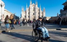 Milano, la città più accessibile ai disabili