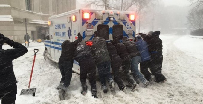 ambulanze bloccate