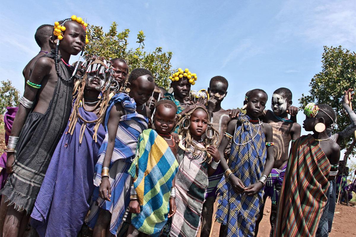 manifestazione pubblica dell'Associazione Oromo