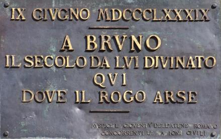 A Giordano Bruno