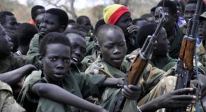 Basta bambini soldato