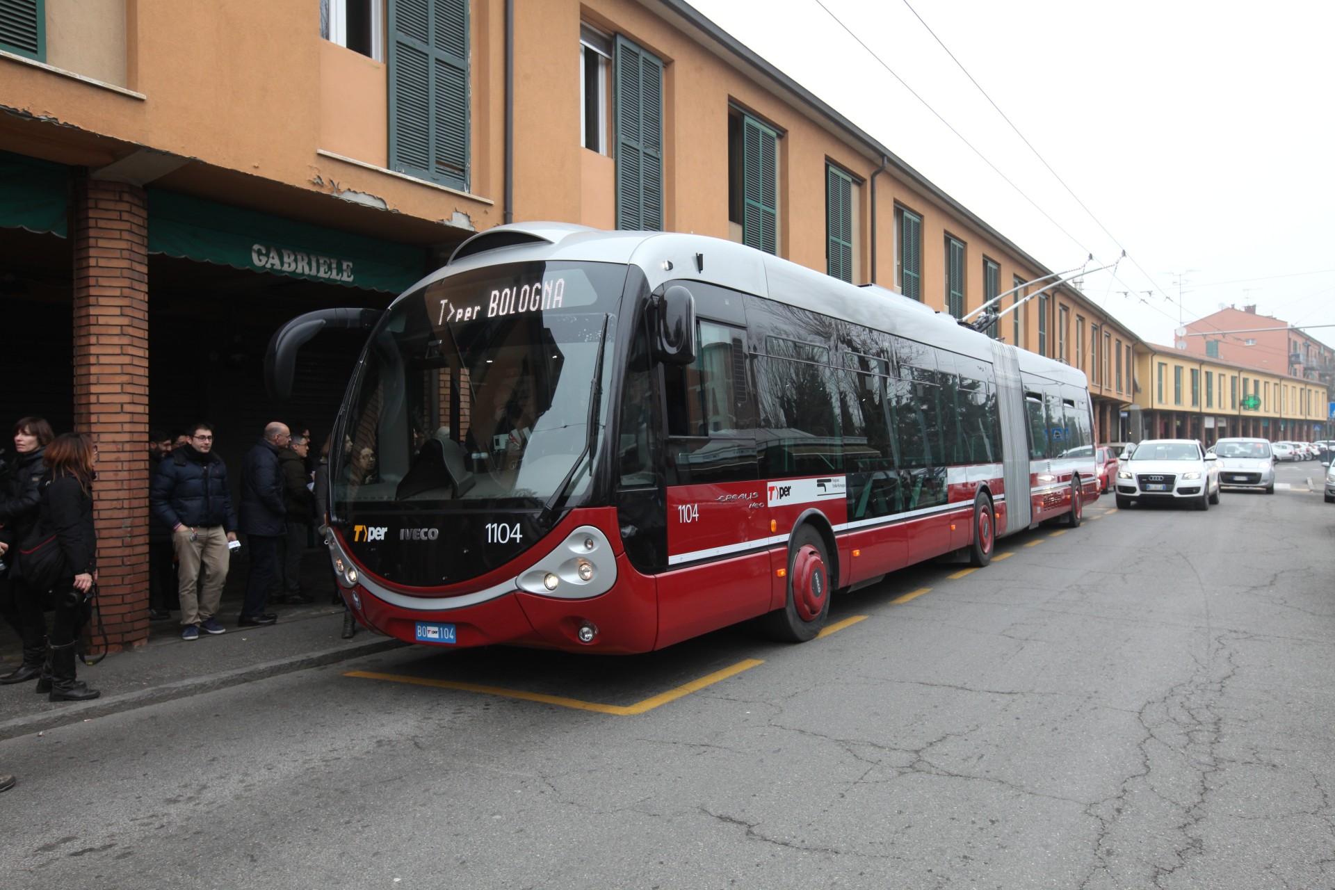 Filobus Bologna a emissioni zero