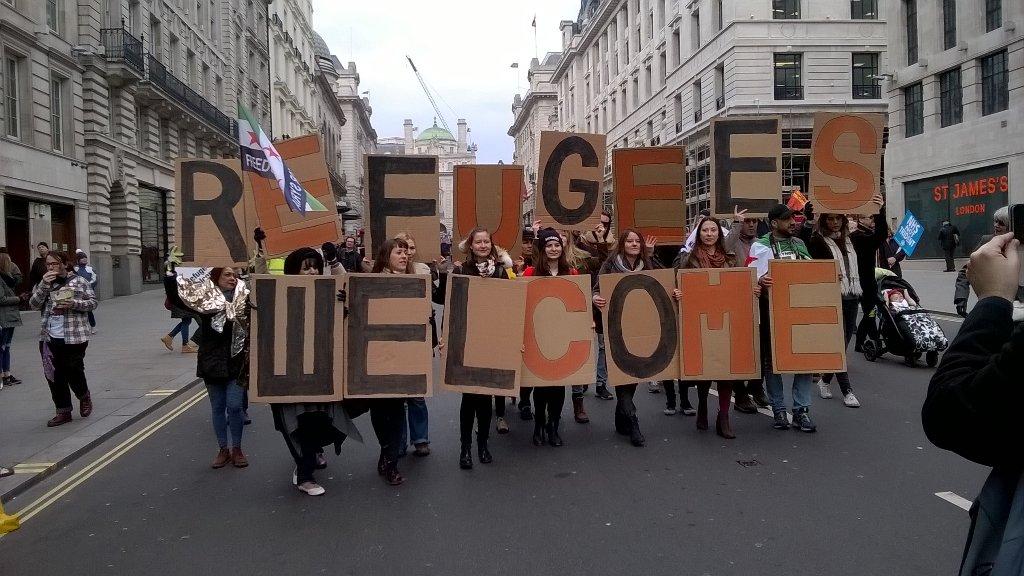 #safepassage Londra