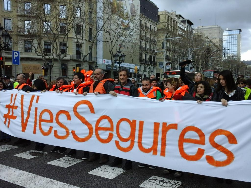 #safepassage Barcellona