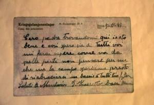 Lettera dal campo di concentramento