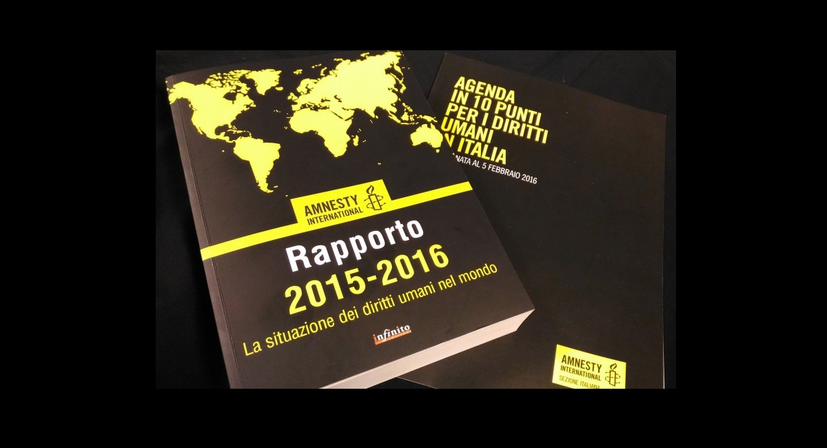 amnesty international rapporto 2015-2016