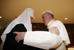 Papa Francesco e Patriarca cirillo