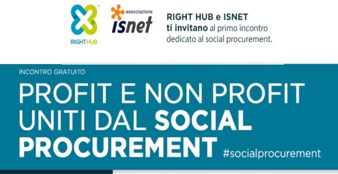 profit e non profit uniti dal social procurement