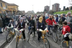 La marcia della donne islamiche contro i pregiudizi