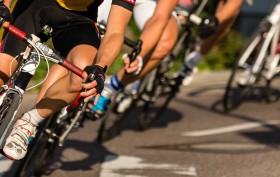Corsa in bici contro il tempo