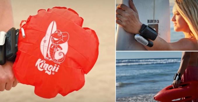 Kingii: il bracciale che ti salva la vita in acqua