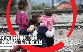 """Save the Children: """"Le reti degli europei loro le hanno viste tutte"""""""
