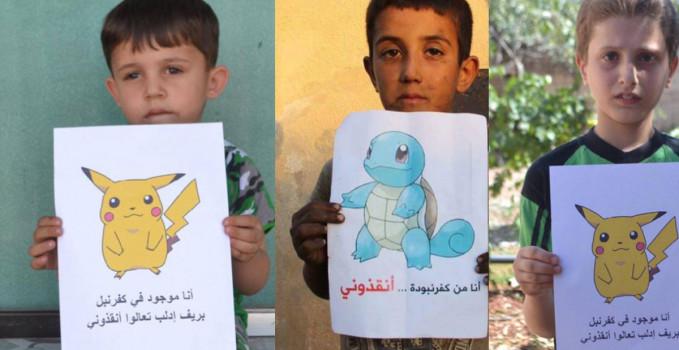 pokemon bambini siriani