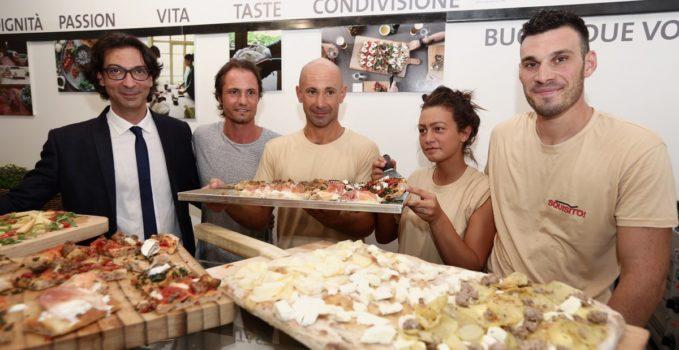 """franchising sociale di San Patrignano """"Squisito! Pizza e bottega"""""""
