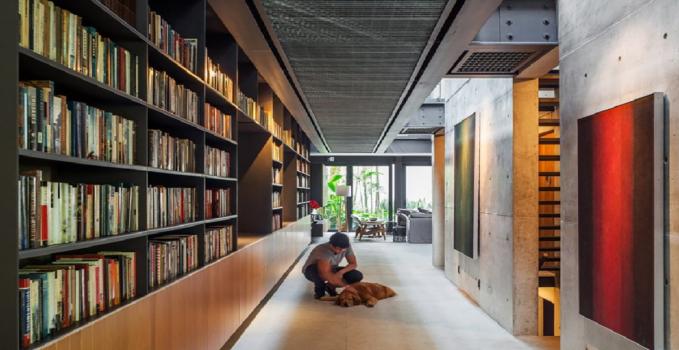 Casa open space in Brasile