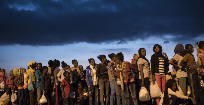 Migranti Milano