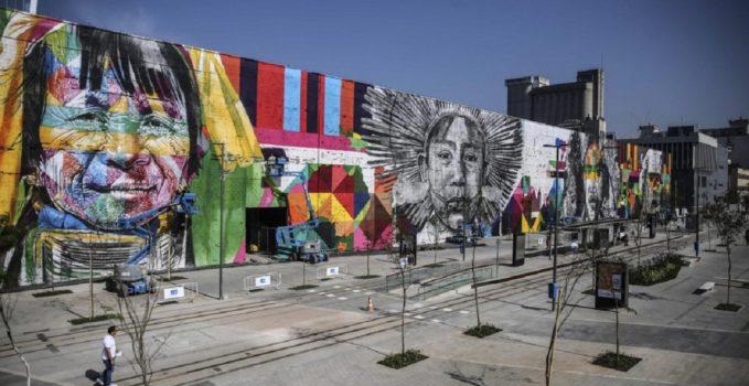 murales di Eduardo Kobra