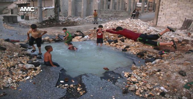 Aleppo, bambini