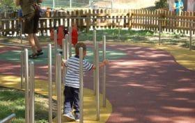 parco giochi inclusivo inaugurato a bolzano