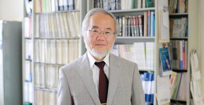 Premio Nobel per la Medicina 2016 a Yoshinori Ohsumi