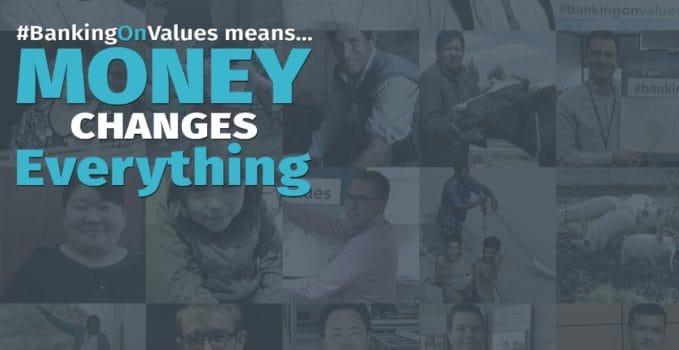 #bankingonvalues