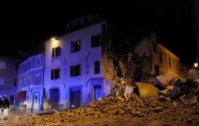 Terremoto Centro Italia: forte scossa a Camerino